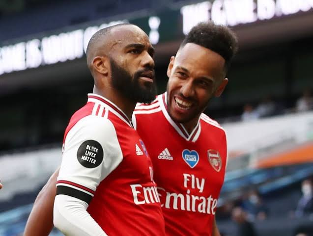 How Aubameyang played 90 minutes without a shot, Lacazette hardly touch the ball.
