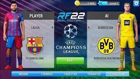 Real Football 2022 Download – RF 22 Apk Mod For Android & IOS