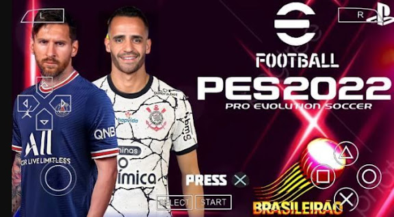 How to Download PES 2022 PPSSPP MESSI to PSG Android Offline New Update