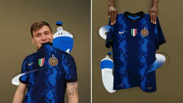 Nike Inter Milan Kits - Home and Away For 2021/22 .