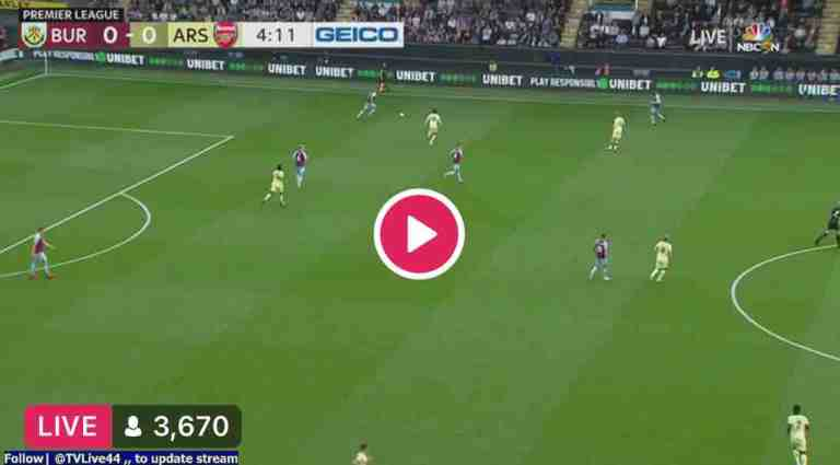 How to watch Burnley vs Arsenal Live Streaming Match #BURARS #EPL