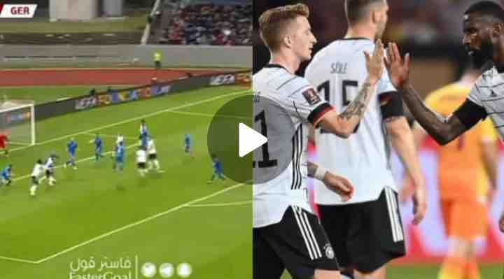 Watch Video: What A Way to Go! Moment Antonio Rudiger Scores A Fantastic Goal Vs Iceland
