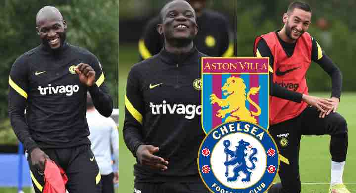 Watch Videos Lukaku, Kante, Pulisic and Ziyech – Chelsea Injury News And Return Dates Ahead Of Aston Villa Clash