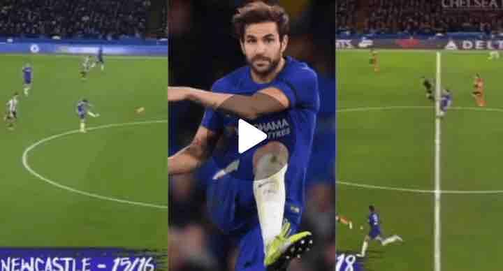 Watch Video: Cesc Fabregas Best Ever Top-Five Spectacular Assists In Chelsea Shirt